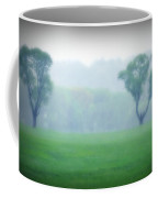 Two Trees In The Mist Coffee Mug