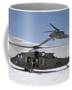 Two U.s. Army Uh-60 Black Hawk Coffee Mug