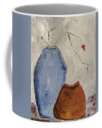Two Vases Still Life Coffee Mug
