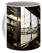 Two Views Inside The Orchid Diner Coffee Mug