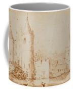 Two Views Of Egmond Castle Coffee Mug