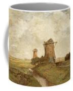 Two Windmills Between Abcoude And Ouderkerk On The Amstel Coffee Mug