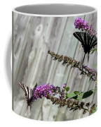 Two Zebra Swallowtail Butterflies Coffee Mug