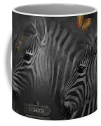 Two Zebras Coffee Mug