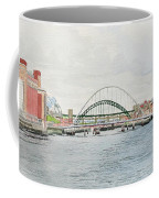 Tyne Bridges And Quayside Coffee Mug