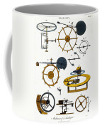 Types Of Clock Mechanism, 1810 Coffee Mug