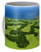 Typical Azores Islands Landscape Coffee Mug