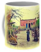 Typical House India Rajasthani Village 1j Coffee Mug