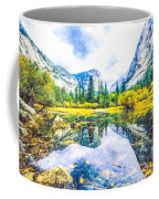 Typical View Of The Yosemite National Park Coffee Mug
