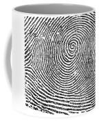 Typical Whorl Pattern In 1900 Coffee Mug
