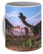 Tyrannosaurus Rex Attacking Coffee Mug