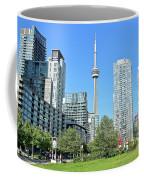 Toronto Towers From The Park Coffee Mug