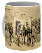 U. S. Cavalry Hunting Garza Men On The Rio Grande Coffee Mug