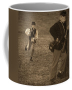 U. S. Civil War Messenger Boy On The Run Coffee Mug