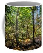 U Shaped Trees Cascade Mountain Ny New York Coffee Mug