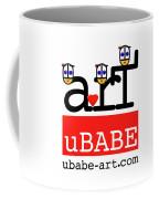 uBABE Art Wave Coffee Mug