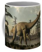 Uberabatitan Dinosaur Walking Coffee Mug