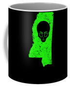 Ufo Abduction Extraterrestrial Archaeology Mississippi Coffee Mug