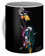 Ufo Astronaut Spaceshuttle Space Force Coffee Mug