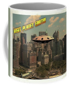 Ufo Postcards Home By Raphael Terra Coffee Mug