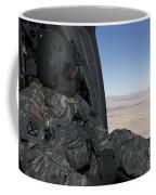 Uh-60 Black Hawk Crew Chief Takes Coffee Mug