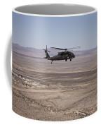 Uh-60 Black Hawk En Route To New Mexico Coffee Mug