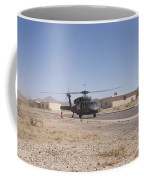 Uh-60 Black Hawk Helicopter Lands Coffee Mug