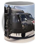 Uh-60 Black Hawk Refuels Coffee Mug