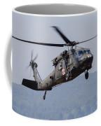 Uh-60a Black Hawk Medevac Helicopter Coffee Mug