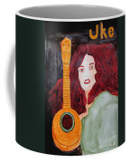 Uke Coffee Mug by Sandy McIntire