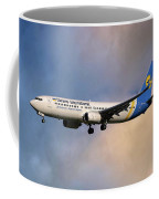 Ukraine International Airlines Boeing 737-8eh Coffee Mug