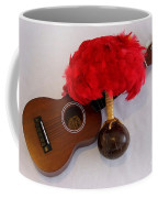 Ukulele And Uliuli Coffee Mug