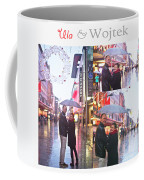 Ula And Wojtek Engagement 2 Coffee Mug