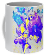 Ultraviolet Daylilies Coffee Mug