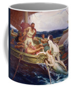Ulysses And The Sirens Coffee Mug by Herbert James Draper