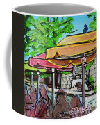 Umbrellas Coffee Mug by TM Gand