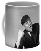 Umpire Making Out Signal, 1950s Coffee Mug