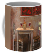 un fiasco di Chianti Coffee Mug by Guido Borelli