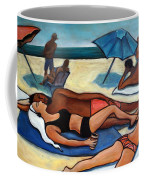 Un Journee A La Plage Coffee Mug