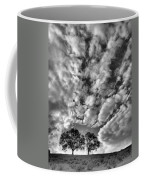 Under Cover In Black And White Coffee Mug