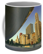 Under The Bean And Chicago Skyline Coffee Mug