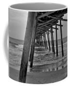 Under The Boardwalk Alantic Beaches Nc Coffee Mug