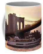 Under The Brooklyn Bridge  Coffee Mug