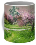 Under The Cherry Tree Coffee Mug