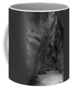 Under The Desert In Black And White Coffee Mug