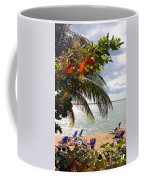 Under The Palms In Puerto Rico Coffee Mug