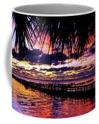 Under The Palms Sunrise Coffee Mug