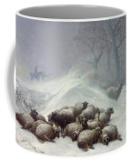 Under The Shelter Of The Shapeless Drift Coffee Mug by Thomas Sidney Cooper