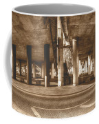 Under The Viaduct B Panoramic Urban View Coffee Mug