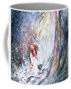 Under The Waterfall Coffee Mug